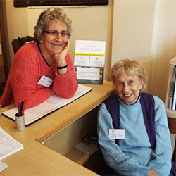 photo of two stewards at Chesham museum