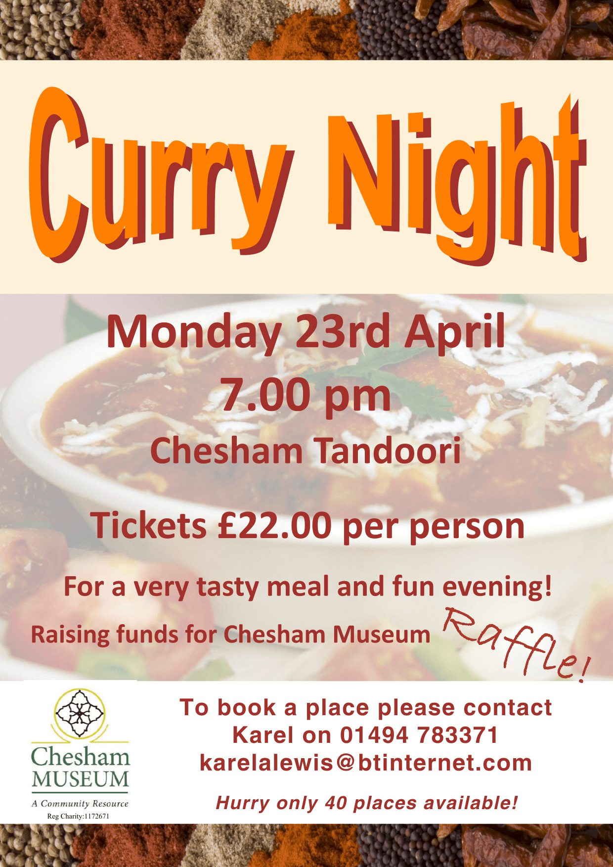 curry night 24 april 2018
