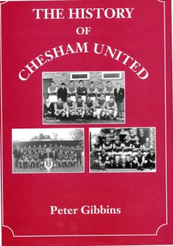 Chesham United history book cover