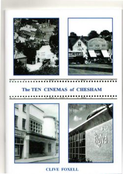 10 cinemas of Chesham book cover