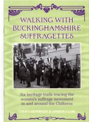 walking with Bucks suffragettes book cover