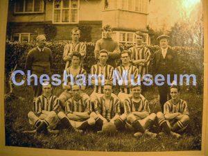 Beechwood's athletic football team [image code: h4-50-04]