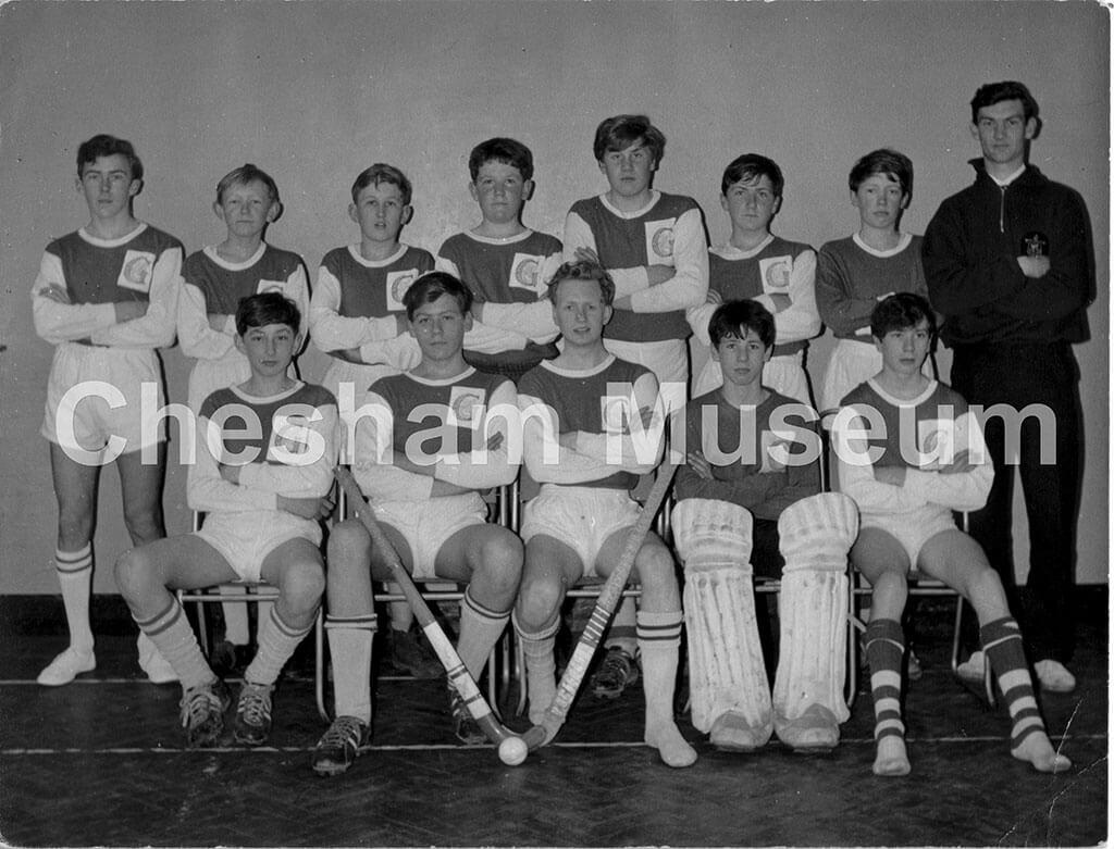 Germain Street School Hockey Team, 1963. Photo courtesy of Kenneth Baker. [image code: h6-25-02]