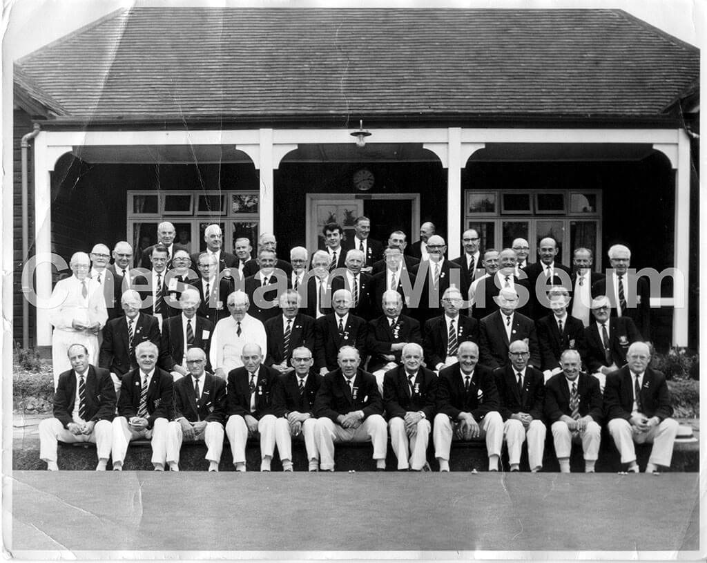 Chesham Bowling Club, 1967. Photo courtesy of Kenneth Baker. [image code: h6-25-05]