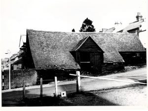The coopering premises, opposite the Brewery on White Hill.