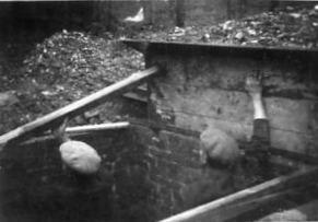 photo of an air raid shelter