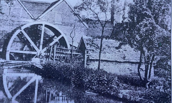 Lord's Mill water wheel