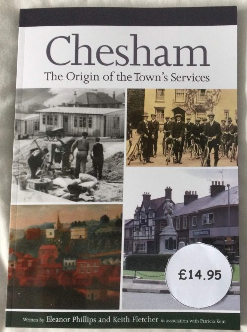 Book cover of Chesham origin of the town's services